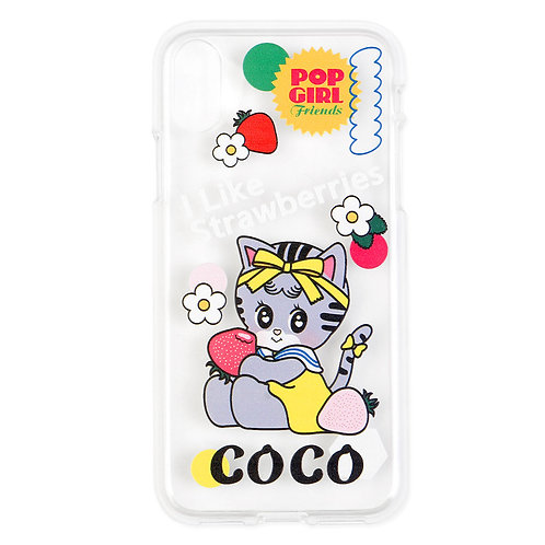 POPGIRL Friends Jelly case - coco