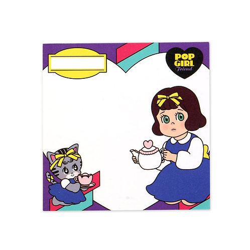 POPGIRL Friends メモ帳 - Nana&Coco