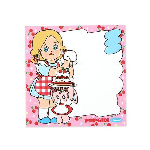 POPGIRL Friends メモ帳 - Maree&Toto