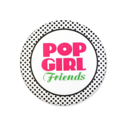 POPGRIL Friends 32mmバッジ