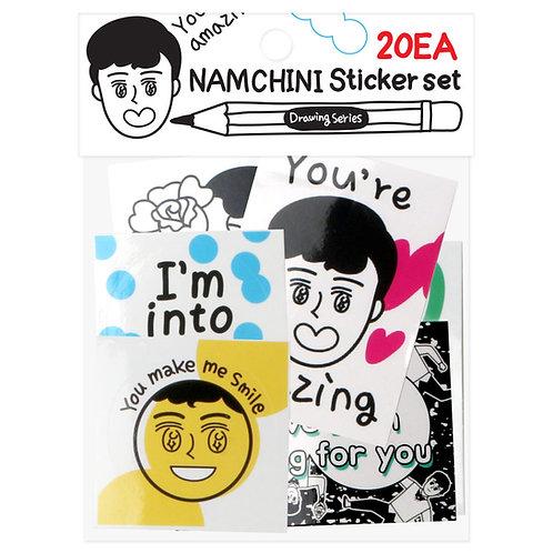 NAMCHINI Deco Stickers - A Set