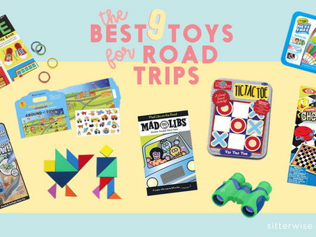 The Best 9 Toys for Road Trips