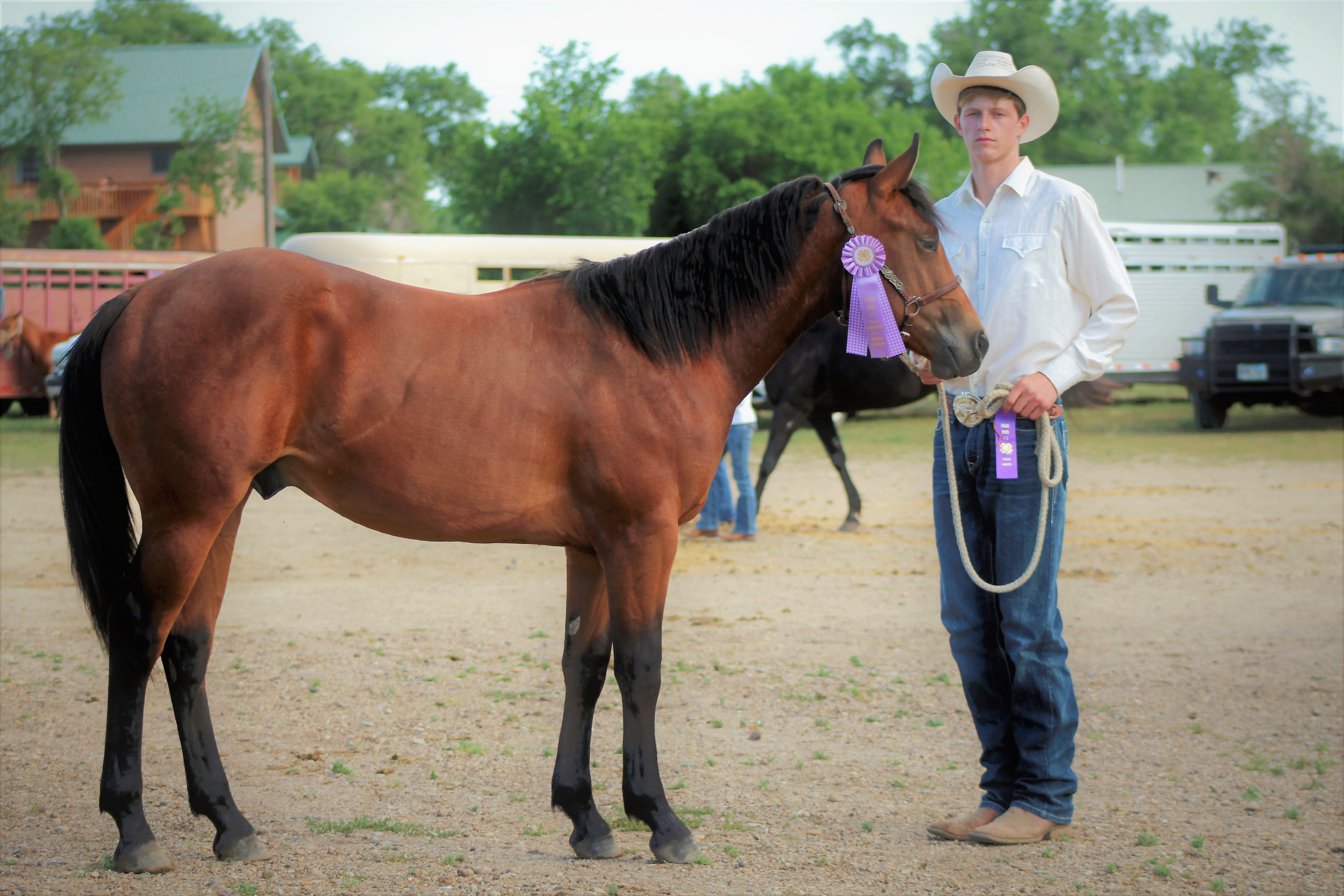 Cinch and Zane res Champ Youth Showmanship