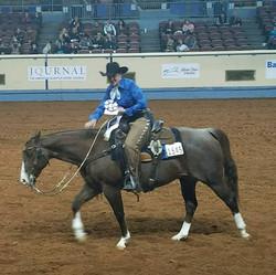 Jecca Ostrander - Burnt - 7th at world Amateur Ranch Riding