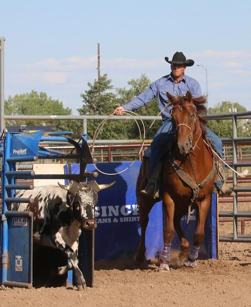 team roping 2nd place Wetz