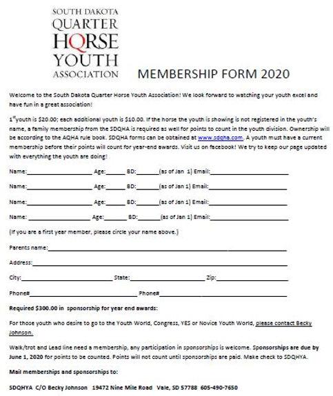 SDQHYA membership.JPG
