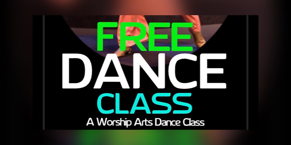 Free Worship Arts Dance Class