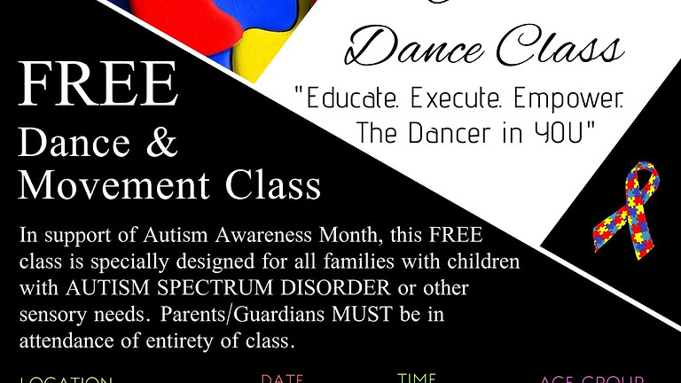 FREE Dance & Movement Class for AUTISM