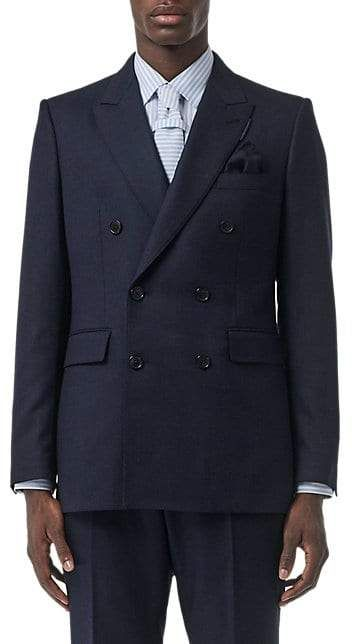 Burberry Suit in Hopsack