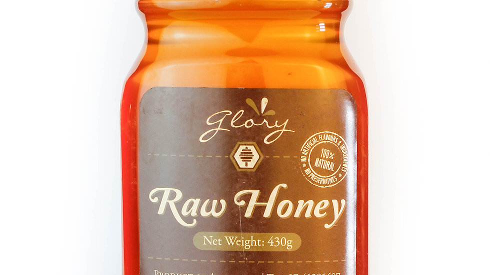 Raw Bush Honey 430g Squeeze