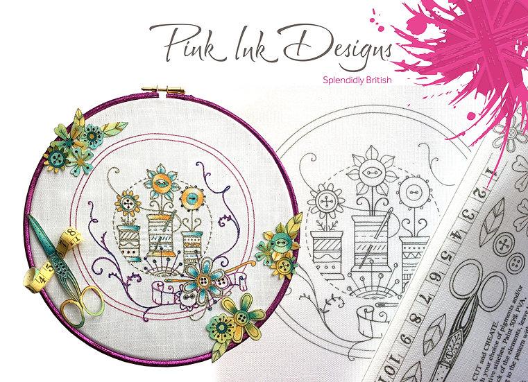 Pink Ink Designs Fabric Panels - Haberdashery