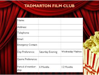Tadmarton Village Film Club