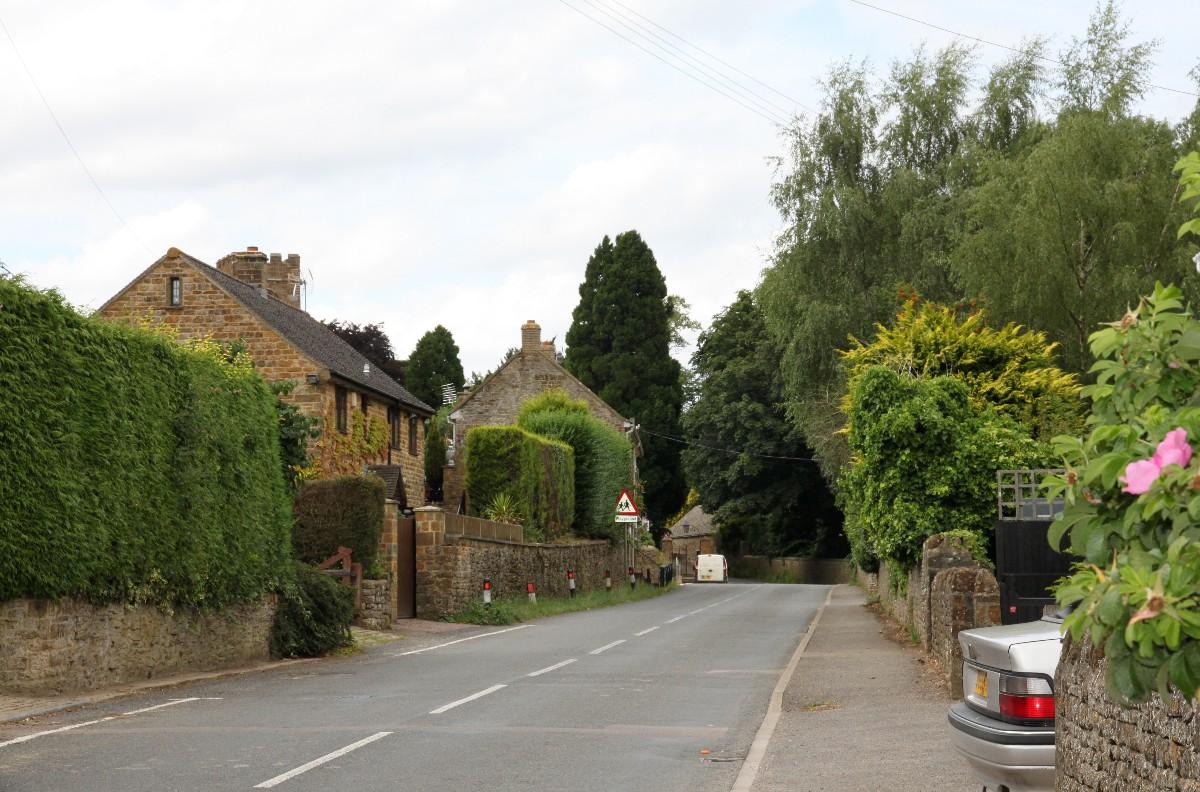 Another photograph of the main street through Tadmarton village
