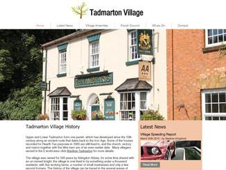 Tadmarton Village Website launch