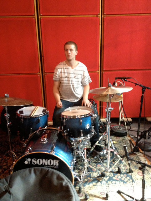 Jake Crowl Set to Record Drums on September 2nd.