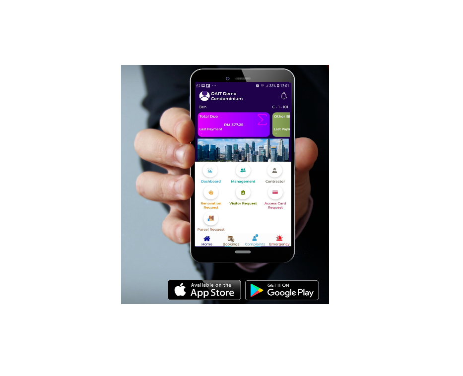 MOBILE APP FOR PROPERTY OWNERS