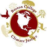 Climate Justice Boston College logo