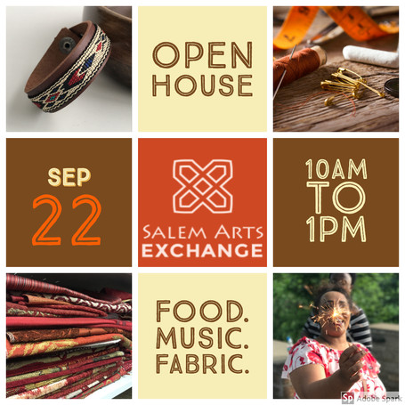 SALEM ARTS EXCHANGE - OPEN HOUSE 2018