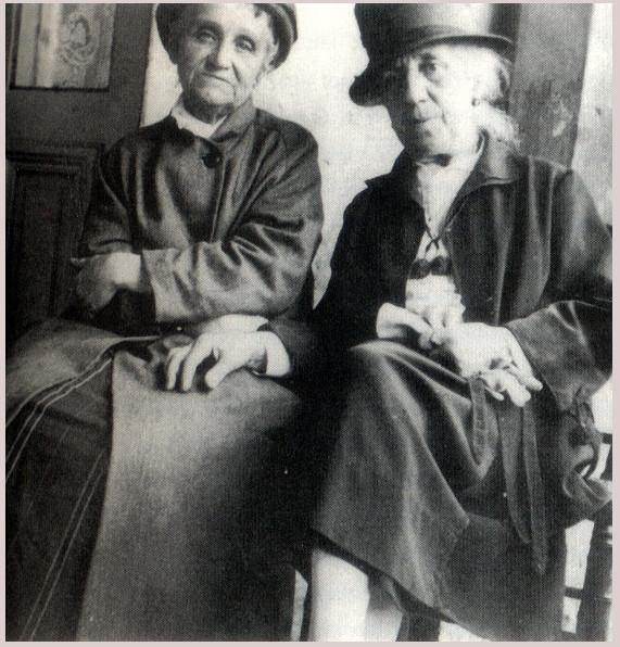 Camille à gauche et son amie Jessie Lipscomb