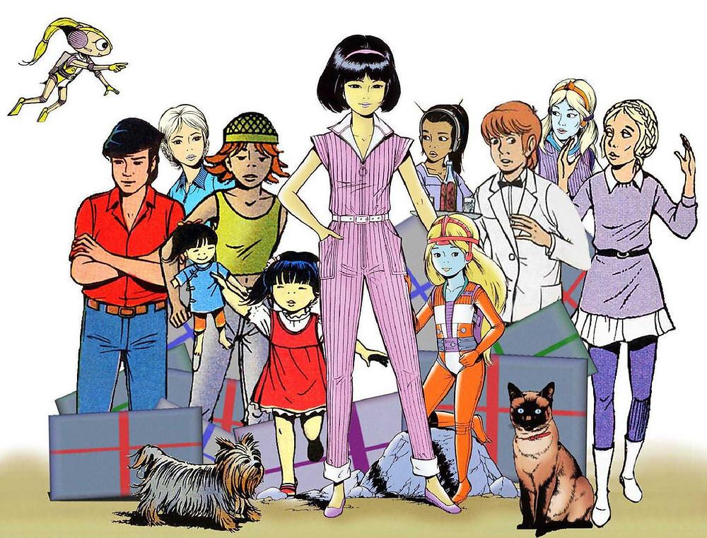 Yoko Tsuno et tous ses amis