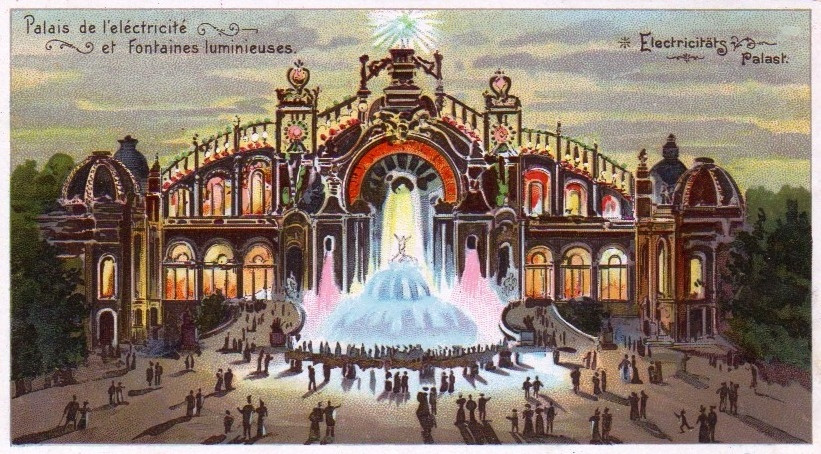 Palais de l'Electricité vers 1900