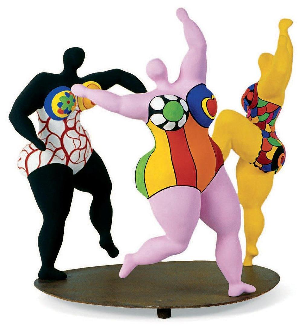 Niki de Saint Phalle, les trois graces