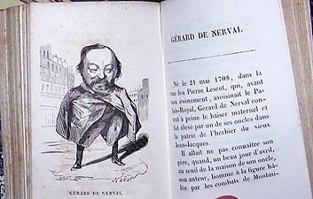 Gérard de Nerval, Illustrations par Nadar pour « Les Binettes contemporaines » de Commerson (1854-1855)