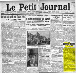 Le Petit Journal la constitution monesgasque est faite
