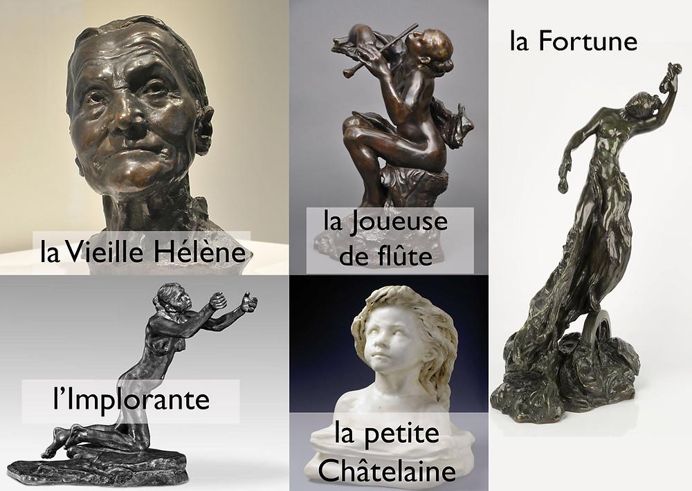 Oeuvres de Camille Claudel