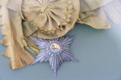 Médaille honorifique perse du soleil et du lion