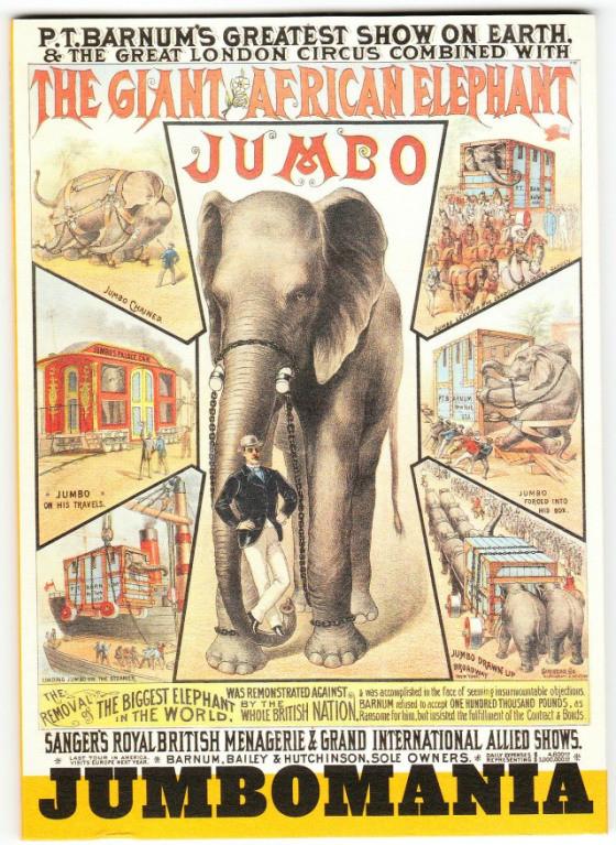 Jumbo, une poule aux oeufs d'or pour Phineas Barnum