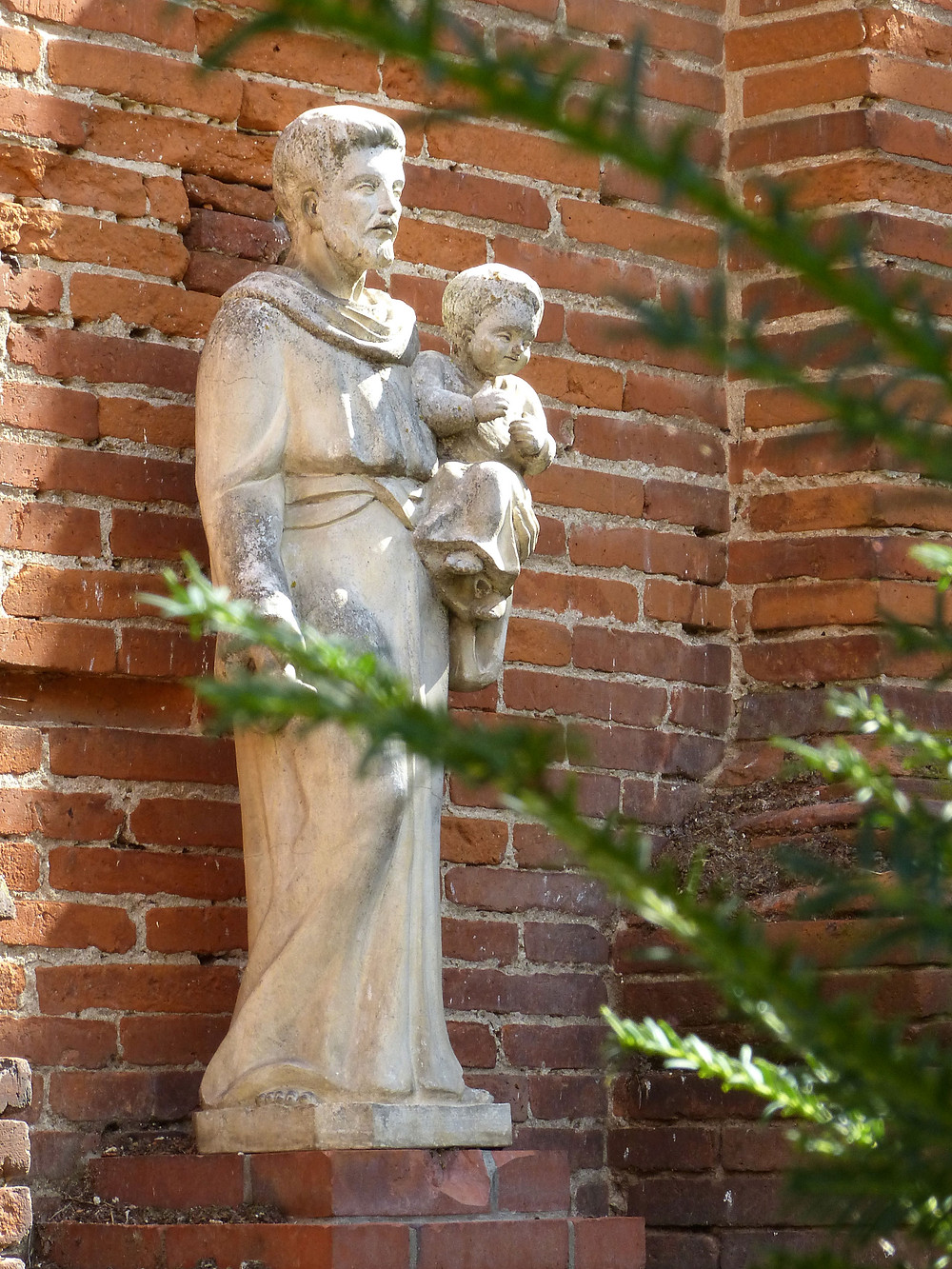 St Joseph  et l'enfant Jésus