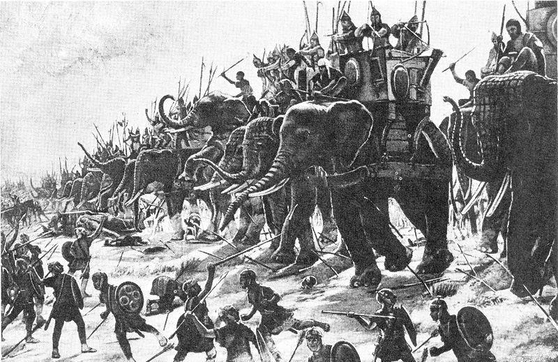 Les eléphants d'Hannibal