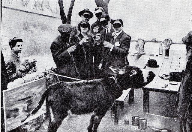 L'âne impressionniste Boronali