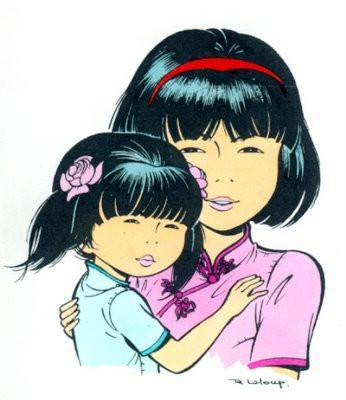 Yoko Tsuno et Rosée du matin