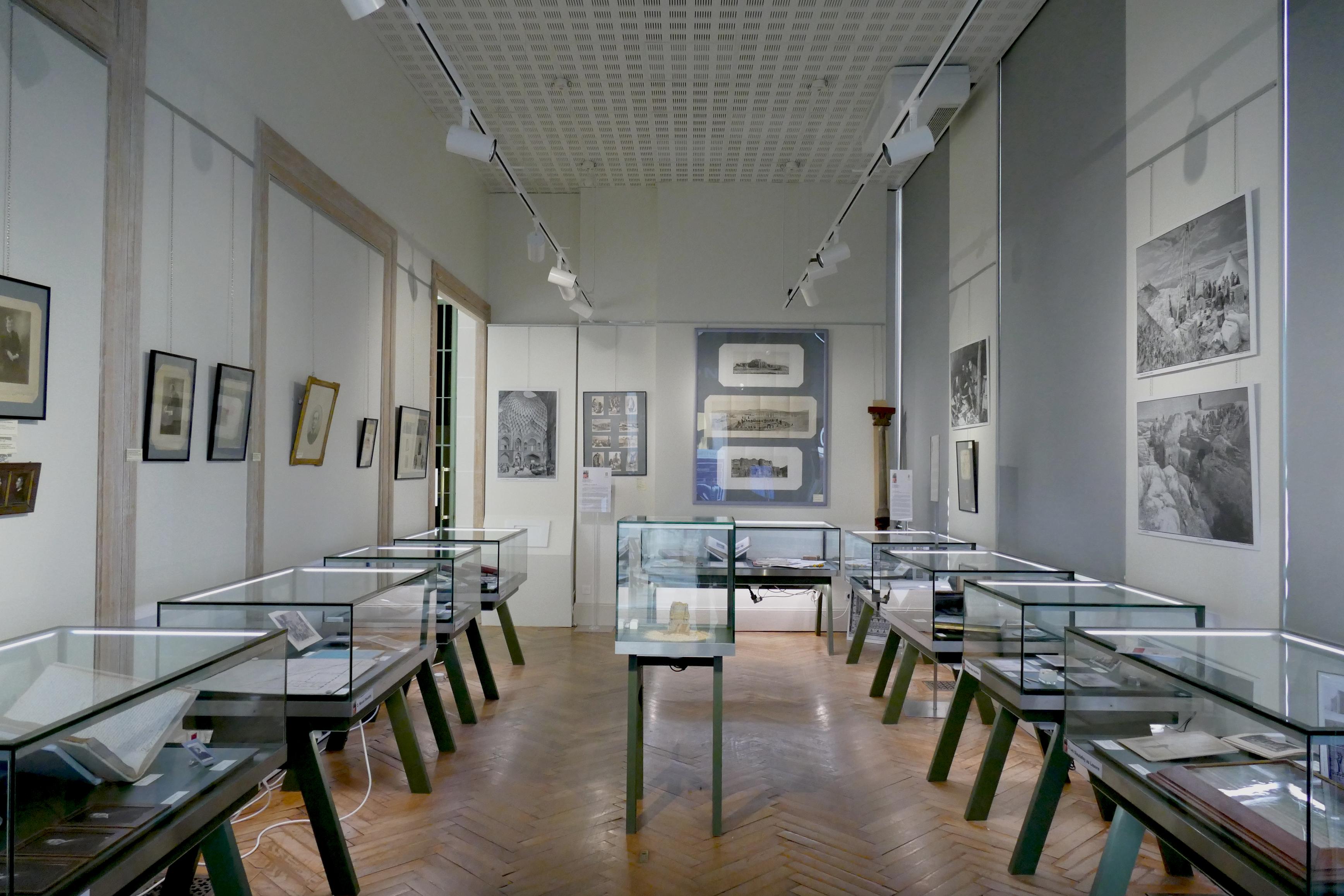 La salle 1 d'exposition