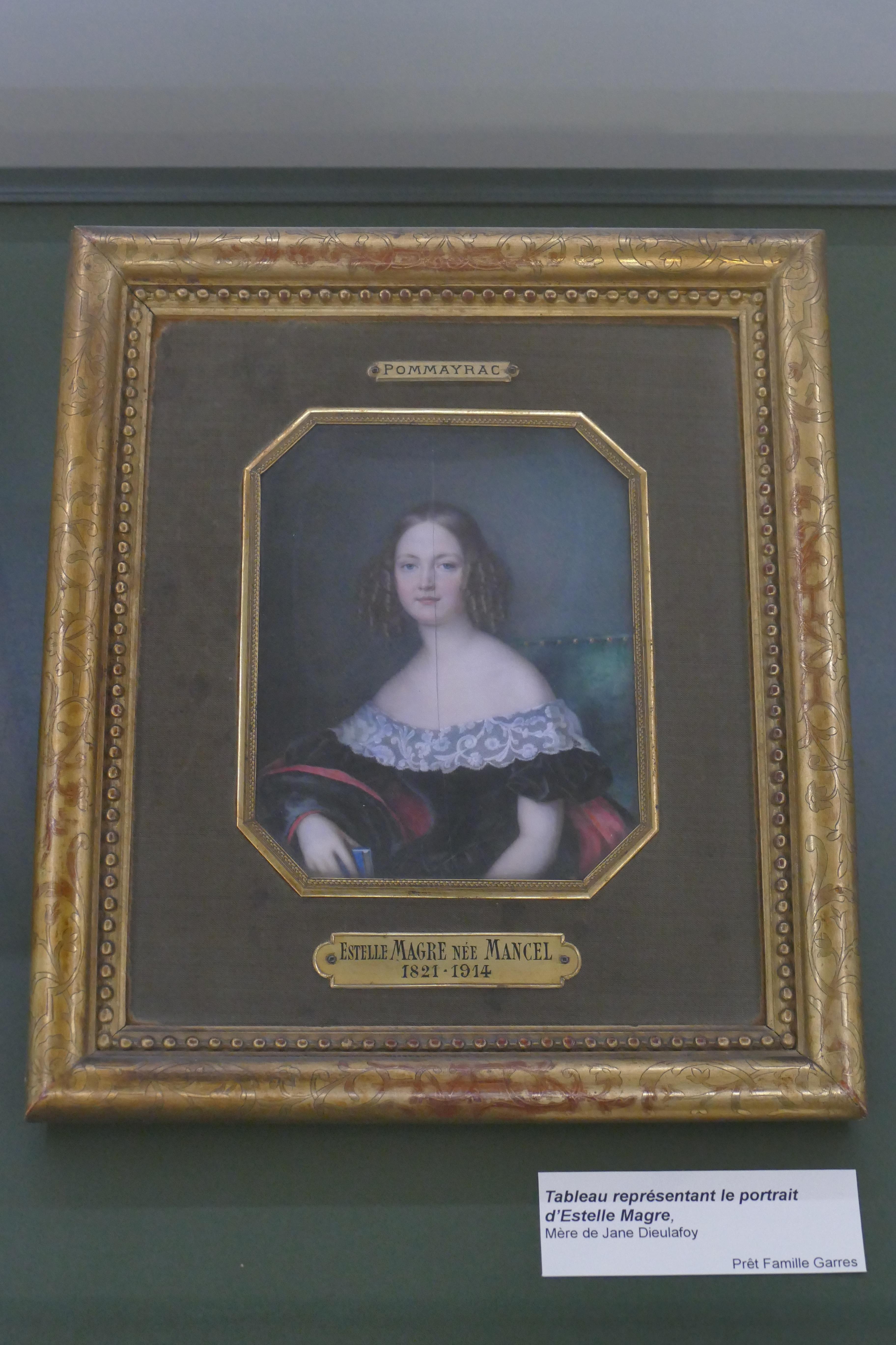 Estelle Magre, mère de Jane Dieulafoy