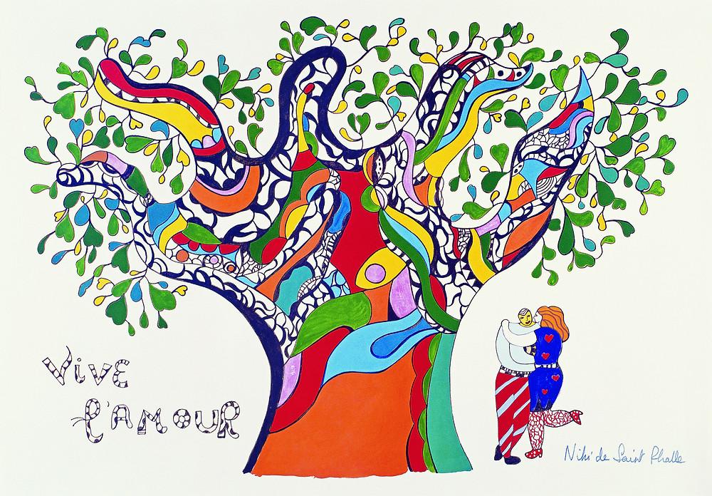Niki de Saint Phalle, l'arbre de vie