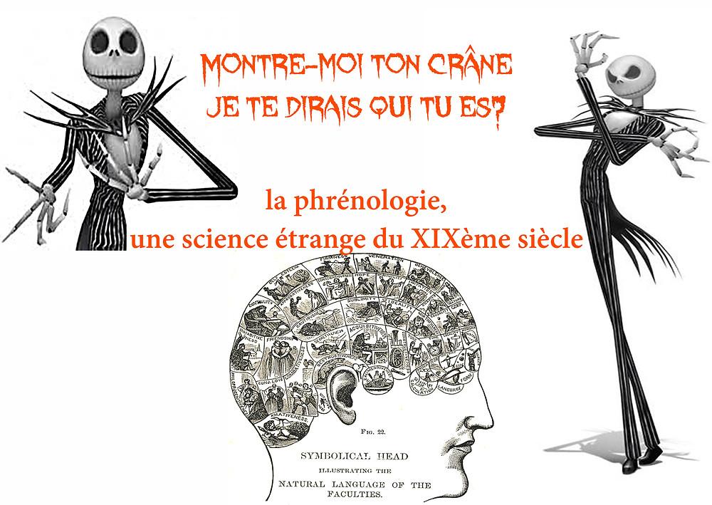 Phrénologie et l'étrange Mr Jack de Tim Burton