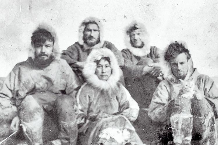 Ada Blackjack et ses compagnons de voyage