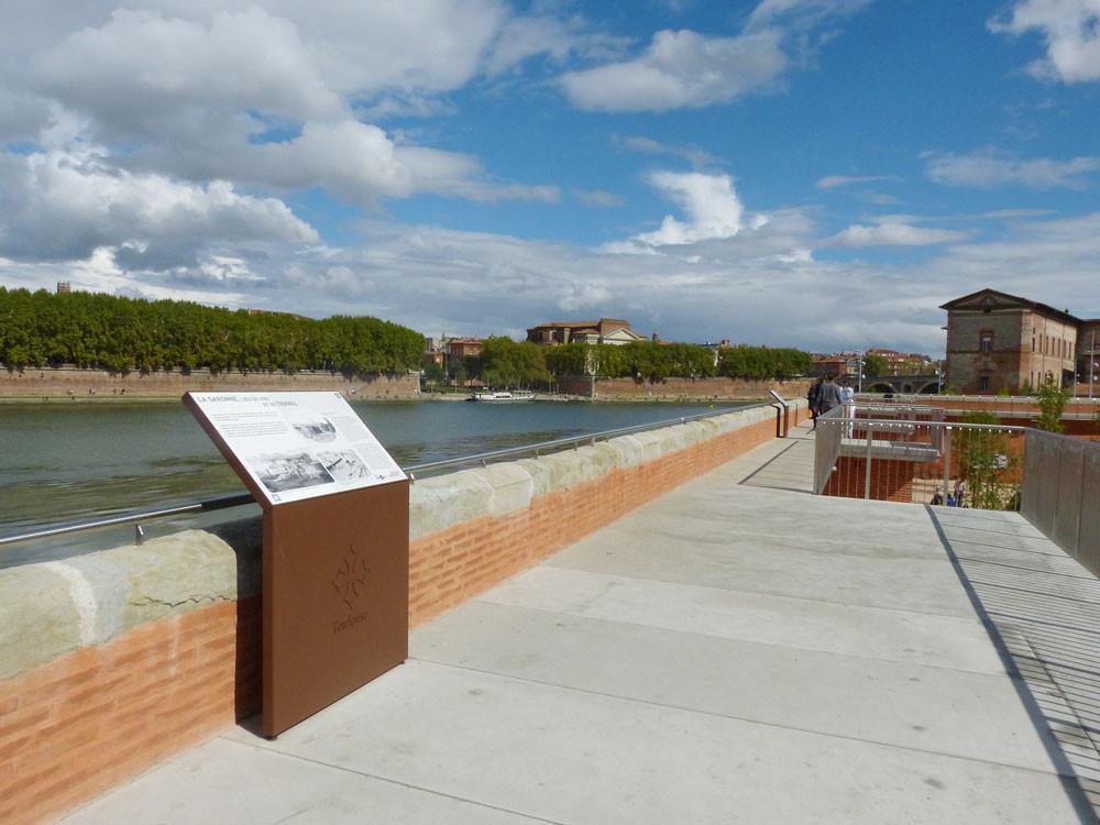 Le quai Vigueir réaménagé avec une promenade sur les hauteurs du mur d'enceinte
