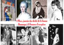 Hommage à huit femmes d'exception!