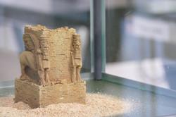 Reconstitution châpiteau androcéphale de Persépolis