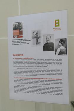 Panneau sur Parysatis