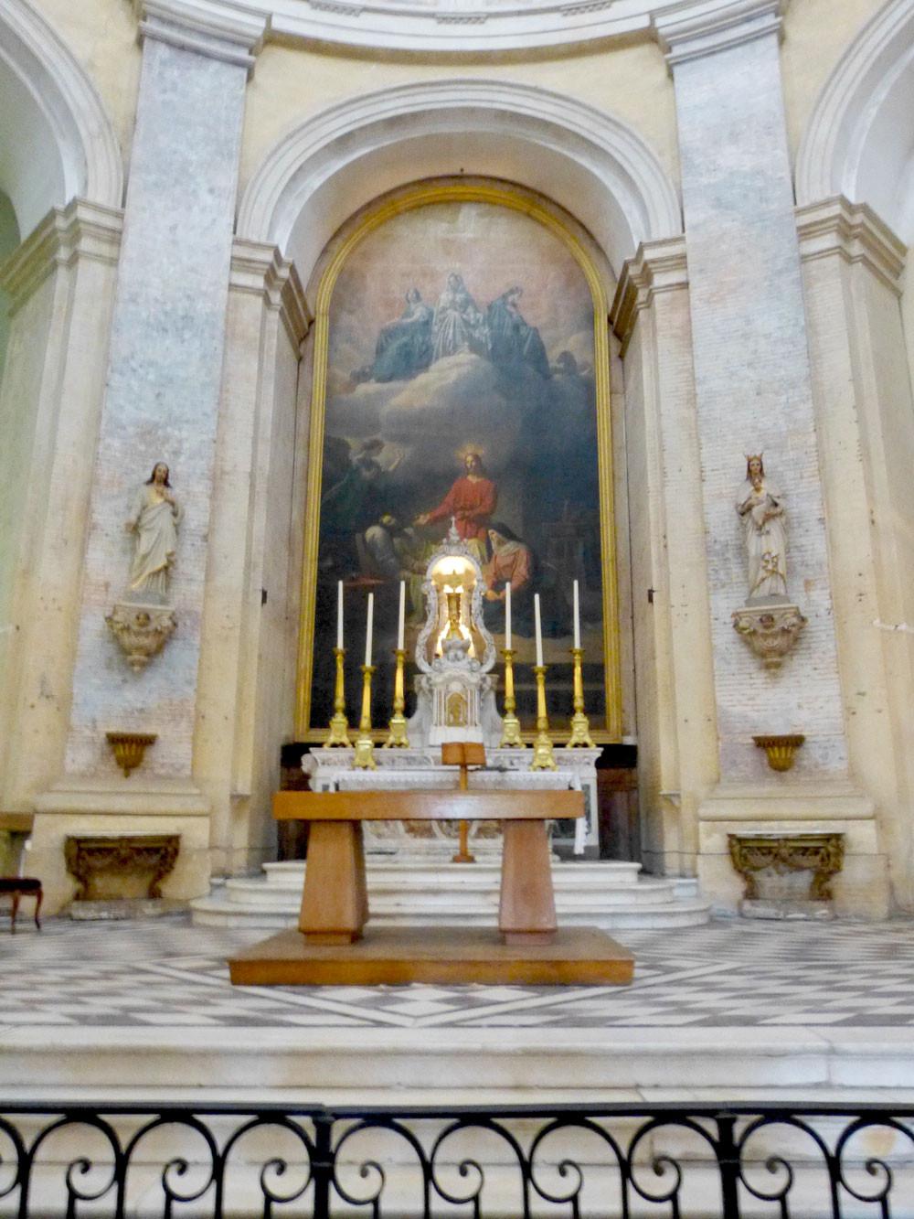 Autel de la chapelle St Joseph