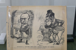 Caricature couple Dieulafoy