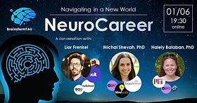 NeuroCareer - BrainstormTAU Panel