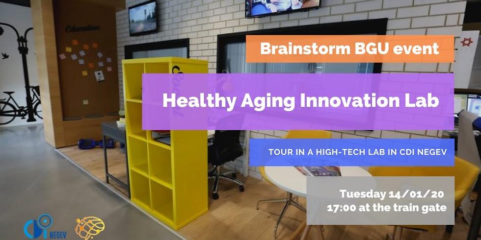 BrainstormBGU - Healthy Aging Innovation Lab