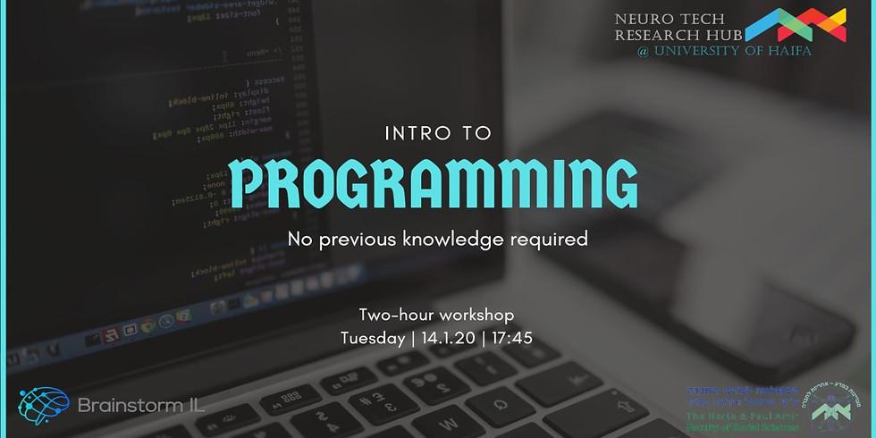 Intro to Programming - HAIFA