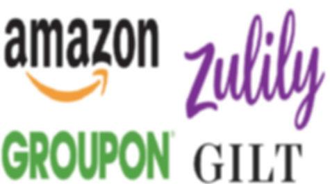 Amazon Zulily Groupon GILT
